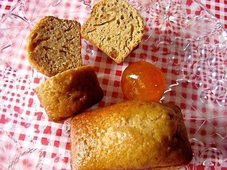 mini pains d'épice