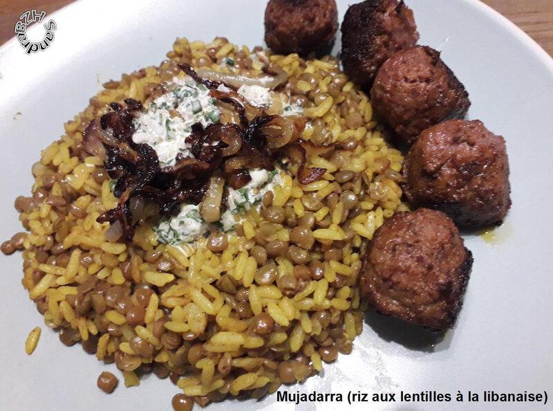 1123 Mujadarra (riz aux lentilles à la libanaise) 2