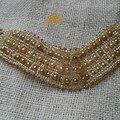 Bracelet Ande bronze/creme