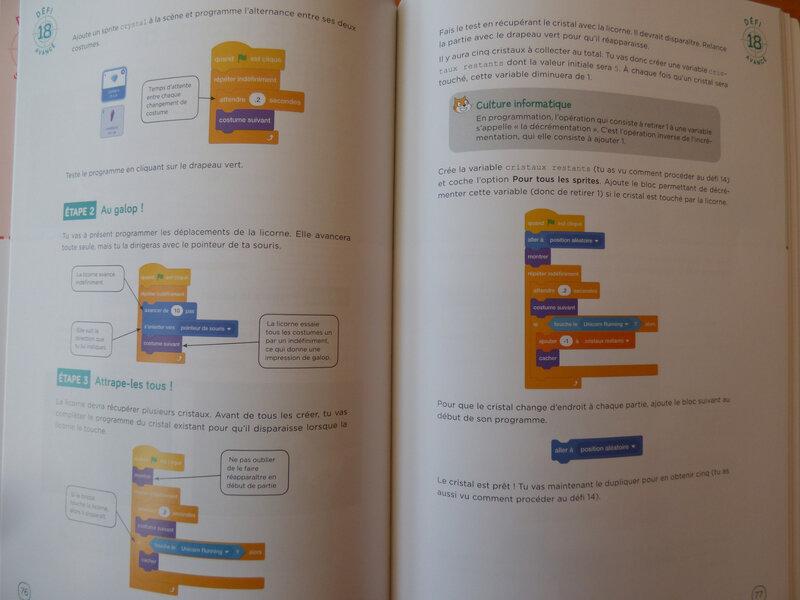 25 défis pour coder avec Scratch 3 (3)
