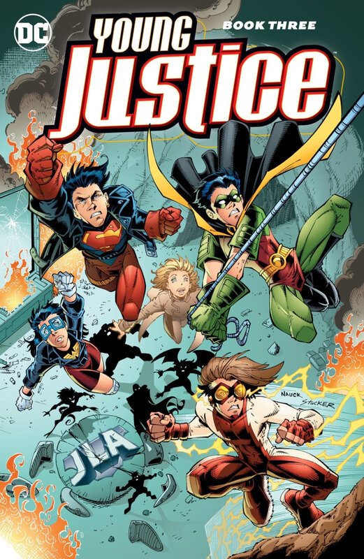 young justice book 03 TPB