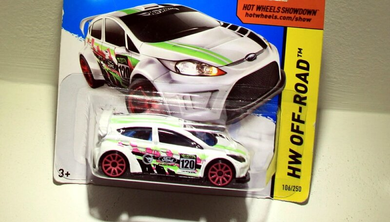 Ford fiesta de 2012 (TH)(Hotwheels 2014)