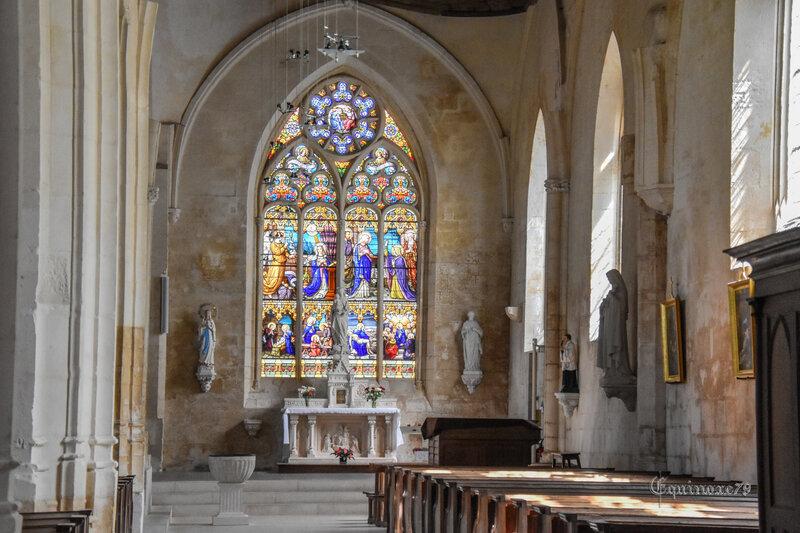 Eglise Poitou Foussais Payré