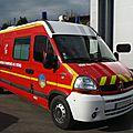 Renault master dci 120 vsav sanicar des pompiers