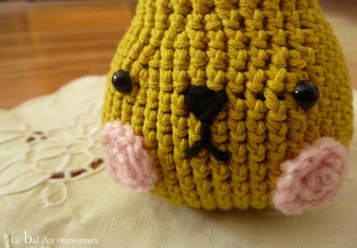 51 Pirum Parum poire crochet 3