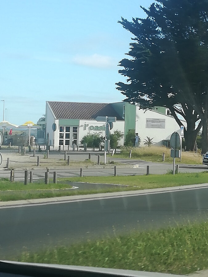 Arrivée sur l'île de Ré, à Rivedoux