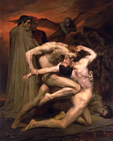 William-Adolphe_Bouguereau_(1825-1905)_-_Dante_And_Virgil_In_Hell_(1850)[1]