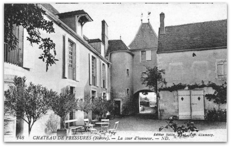 Portepain château de Pressures z