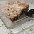 Gâteau à la confiture de cerises noires