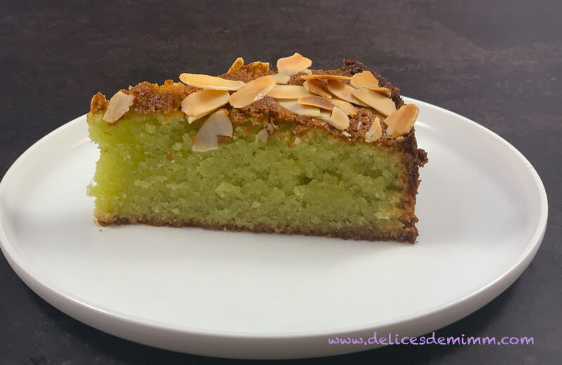 Gâteau fondant aux amandes et aux pistaches 4