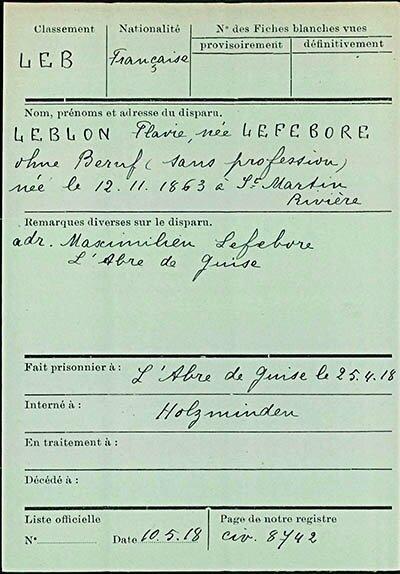 LEBLON Flavie