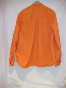 Chemise Kermel orange dos flash