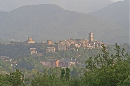 Aragon Ainsa ville matin 290612