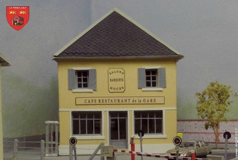 Café restaurant de la gare 2017
