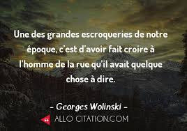 Citation Georges Wolinski