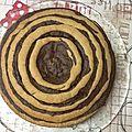zebra cake vanille choco