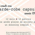 #je couds ma garde-robe capsule 2017 - 1