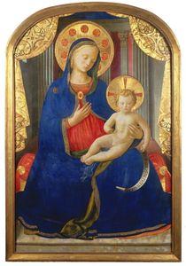 Fra-Angelico-Vierge-a-lenfant
