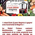 Cuisine az : cook expert magimix a gagner 🎁