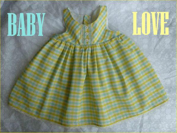 Baby robe acidulée (1