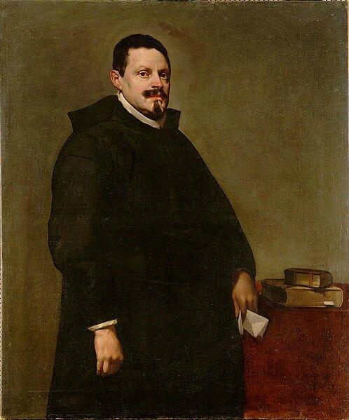 Diego Velazquez, Portrait de l'inquisiteur Sebastian de Huerta, circa 1628