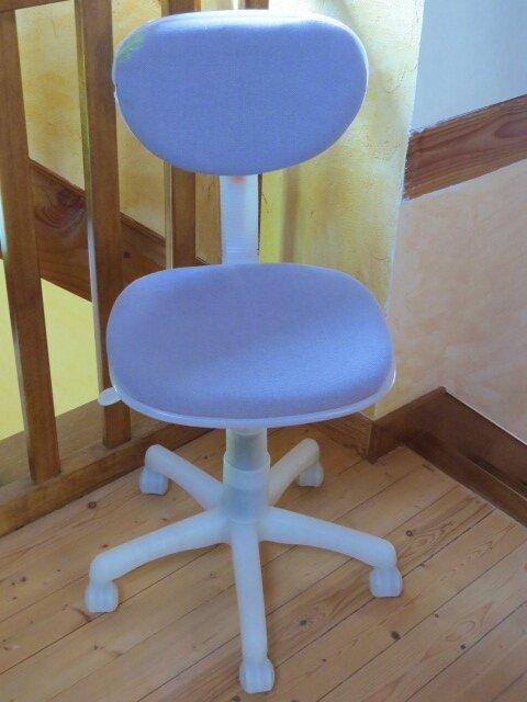 recouvrir une chaise de bureau partager nos coutures. Black Bedroom Furniture Sets. Home Design Ideas