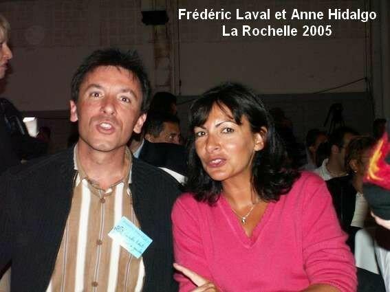 Anne Hidalgo et Frederic Laval