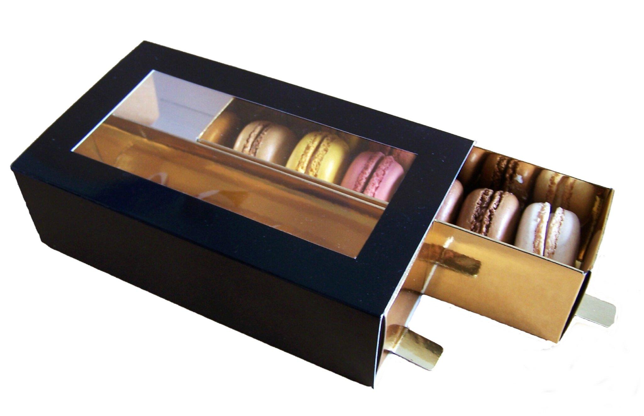 130724 Boite macarons 2 T grand format ATT2 noir or