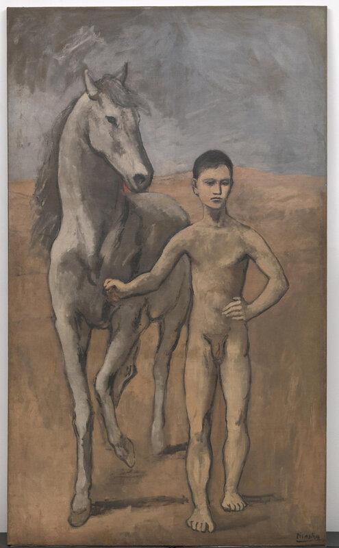 avec le cheval
