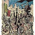 Une foule en liesse pour les révolutions arabes...
