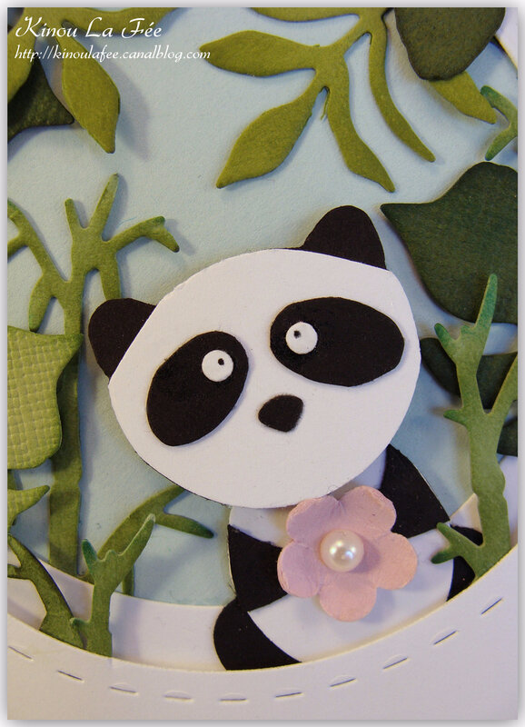 Carte Foxy Friend Panda 3