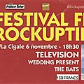 Television / the wedding present / the bats - vendredi 6 novembre 1992 - festival des inrocks à la cigale (paris)