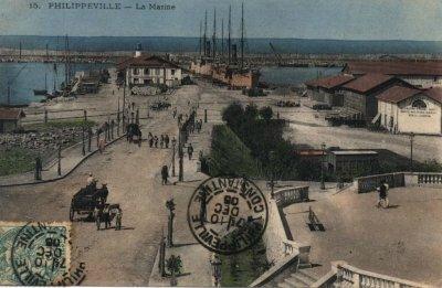 Philippeville le port