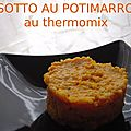 Risotto au potimarron (au thermomix)