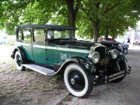 STUTZ Eight Cylinder AA 5 Passenger Brougham 1927 Baden Baden (1)