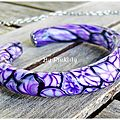 Purple Field, bracelet, 12€ vendu