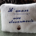 Cuscino amorevole - loving cushion- coussin d'amour