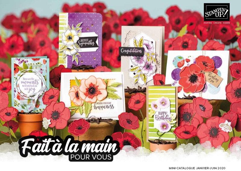 Catalogue Printemps été Stampin'up Katia Nésiris