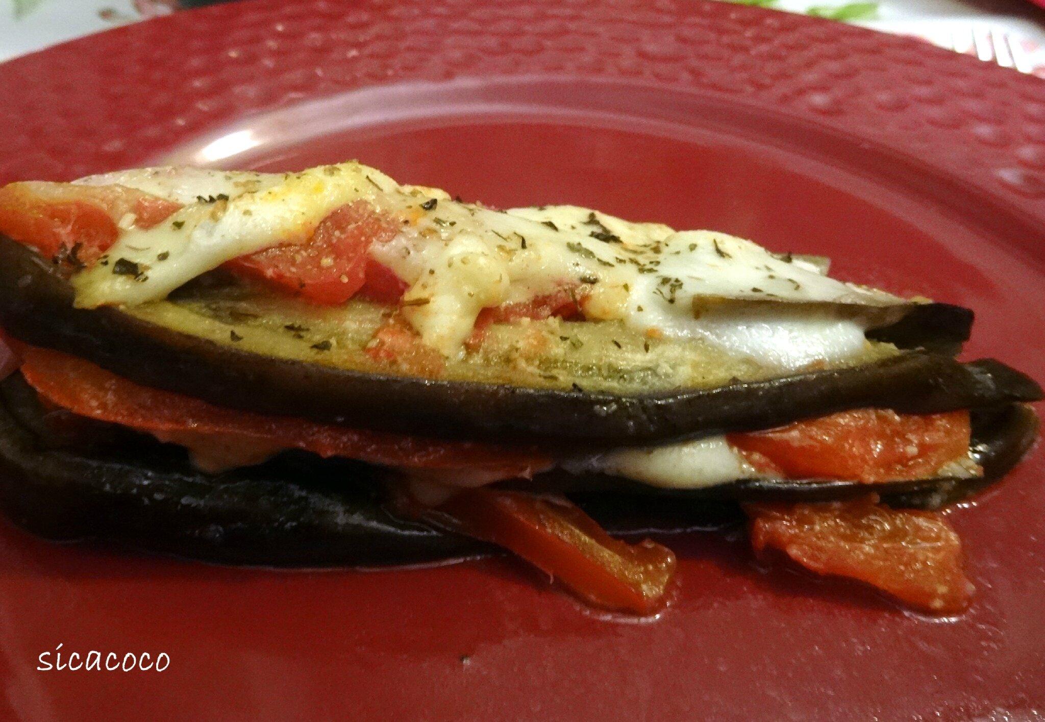 Millefeuille D Aubergine Tomates Mozzarella Les Carnets De