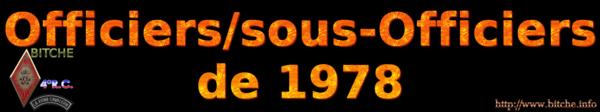 OFFICIERS sous OFFICIERS de BITCHE 1978a