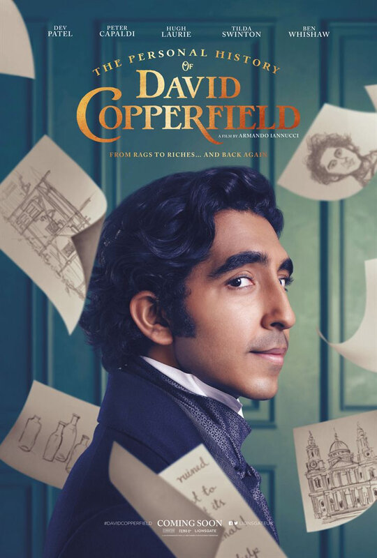 David Copperfield affiche