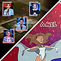 The voice kids, prime 1: team amel bent ✌🎤💜