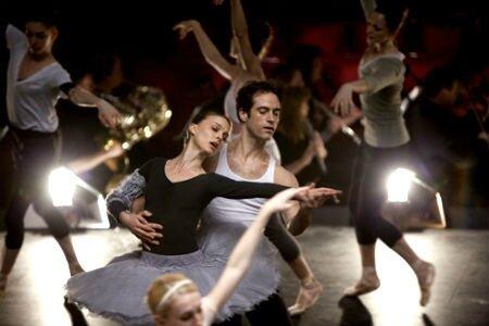 Benjamin Millepied - Nathalie Portman dans Black Swan