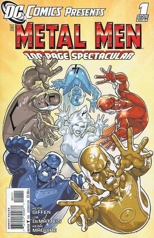 DC comics presents metal men