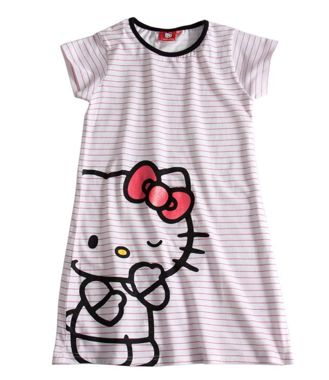 Fille Kitty De Hello Nuit Robes Chemise 6yIYgvbf7