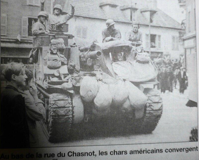 libération char rue du Chasnot