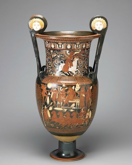 FAMSF_Red-figured Volute Krater
