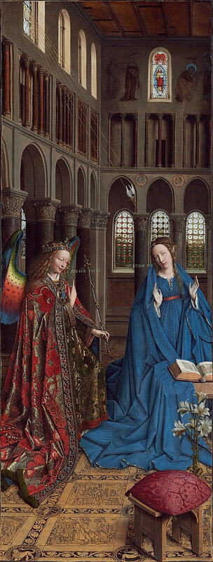 388px-Annunciation_-_Jan_van_Eyck_-_1434_-_NG_Wash_DC