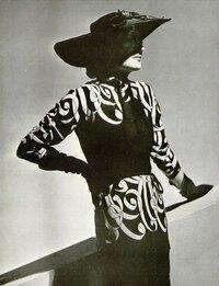 Robe d'après-midi Balenciaga, L'Officiel 1938