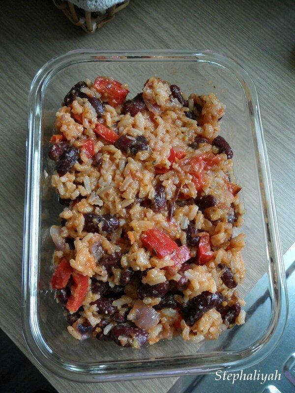 Riz cajun et haricots rouges - 3